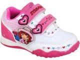 Tênis Fem Infantil Gvd Ss58727 Branco/rosa