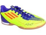 Tênis Masc Infantil Adidas G29115 f5 in j Verde Limão/roxo