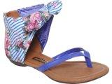 Sandália Fem Infantil Molekinha 2039307 Azul/roxo