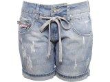 Bermuda Feminina Coca-cola Shoes 43200152 Jeans