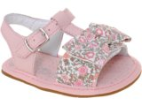 Sandália Fem Infantil Bibi 550122 Rosa/floral