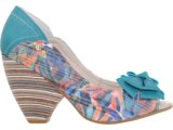 Peep Toe Feminino Bebêcê754542 Color