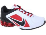 Tênis Masculino Nike 487979-106 Impax Atlas  Bco/verm/pto