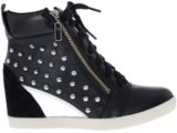 Sneaker Feminino Hetane 1201211 Preto/prata