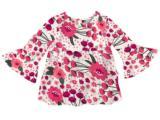 Bata Fem Infantil Hering Kids C773 Se01en Rosa Floral
