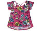 Bata Fem Infantil Puc 2crq 1den Pink Floral