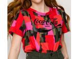 Camiseta Feminina Coca-cola Clothing 343203351 Vb110 Color