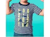 Camiseta Masc Infantil Hering Kids 5cr4 1aen Marinho/branco