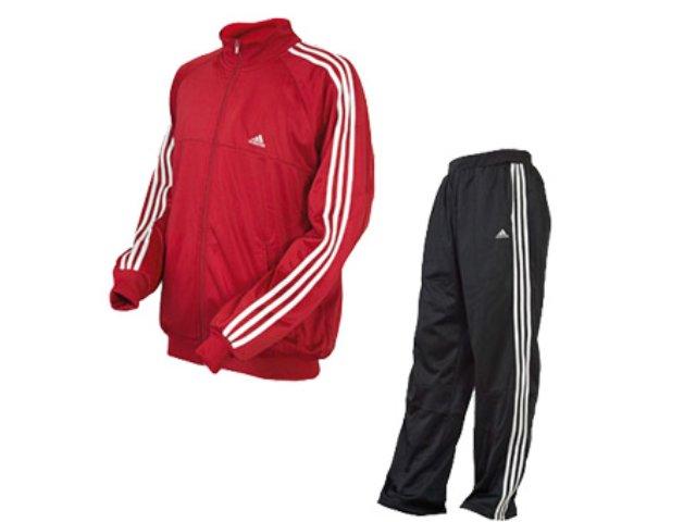 Abrigo Masculino Adidas 610126 Vermelho