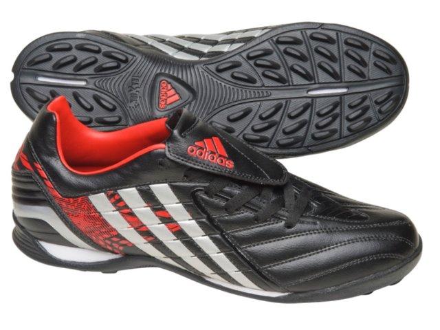 Tênis Masculino Adidas Predito ps G25612 Preto/vermelho