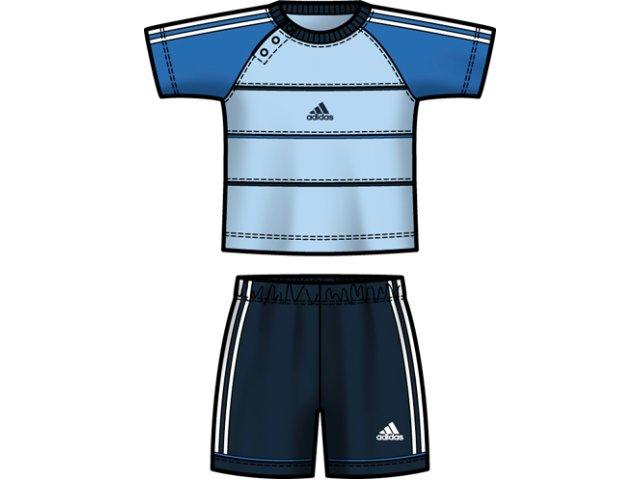 Conjunto Masc Infantil Adidas E13922 Marinho/azul