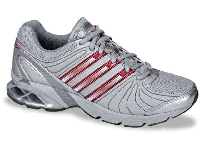 Tênis Feminino Adidas Macula G05564 Prata/verm
