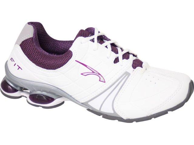 Tênis Feminino Kolosh 6343 Branco/violeta