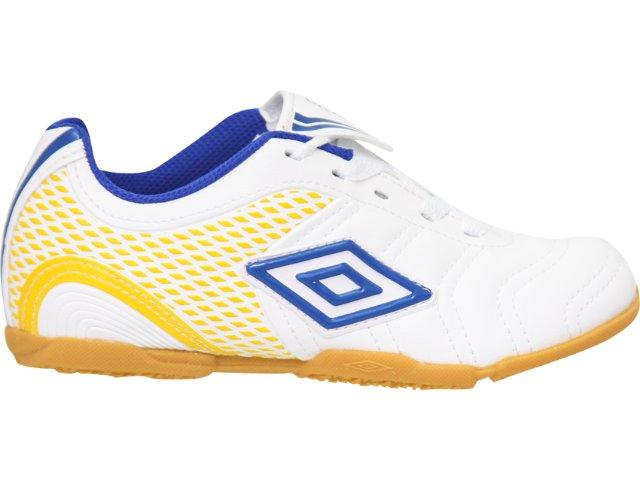 Tênis Masc Infantil Umbro World Cup 20057 Branco/azul