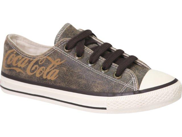 Tênis Feminino Coca-cola Shoes C01002002 Marrom