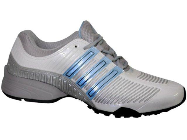 Tênis Feminino Adidas Bump G25576 Branco/azul