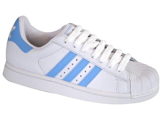 Tênis Feminino Adidas Star 2w G29801 Branco/azul