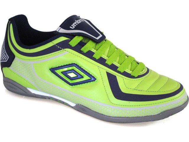 Tênis Masculino Umbro York 10118 Verde/marinho