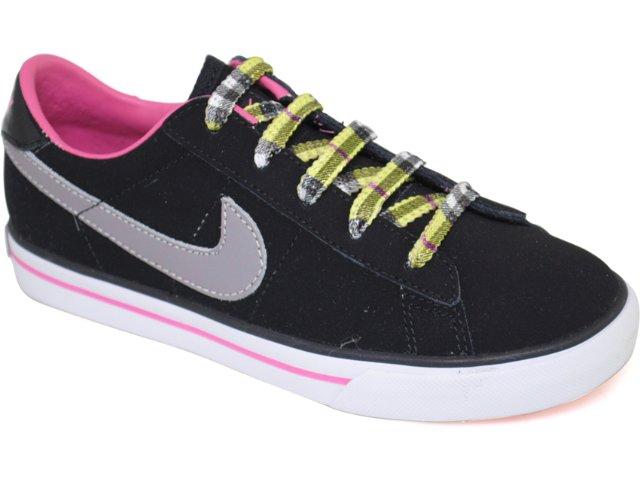 Tênis Fem Infantil Nike Sweet 367108-003 Preto/rosa