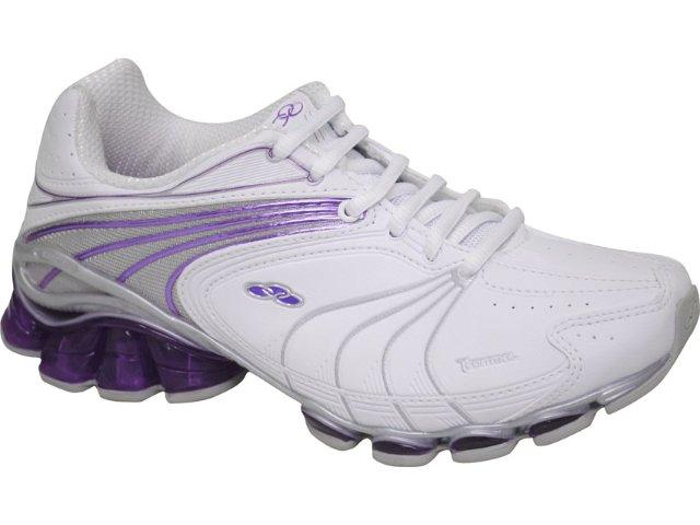 Tênis Feminino Olympikus Vinci 702 Branco/violeta