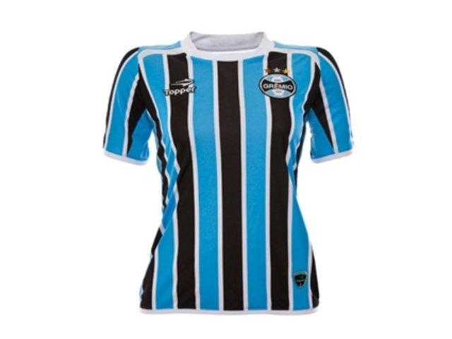 T-shirt Feminino Grêmio C7000f 2011  Tricolor
