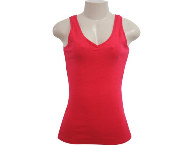 Blusa Feminina Hering 01tf Rxx07s Vermelho