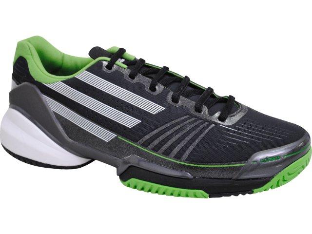 Tênis Masculino Adidas Adizero Feather G42726 Preto/verde