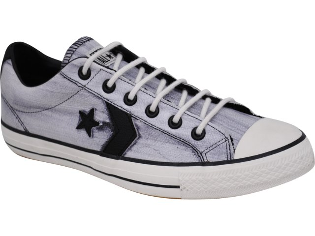 Tênis Masculino All Star Bo439 Off White/pto