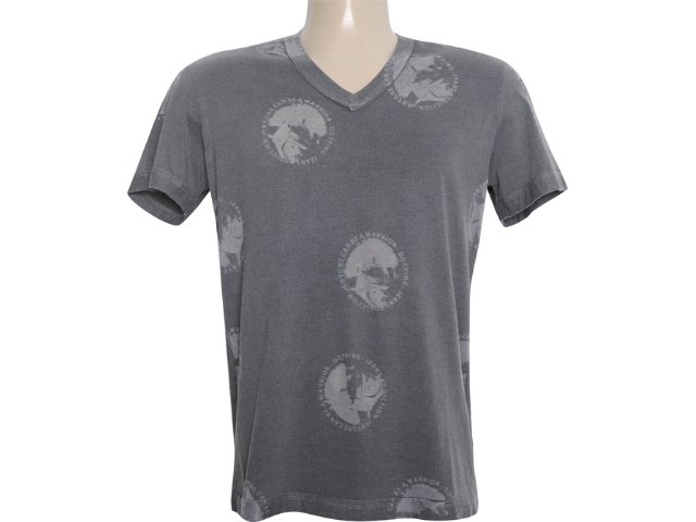 Camiseta Masculina Dopping 015261000 Grafite