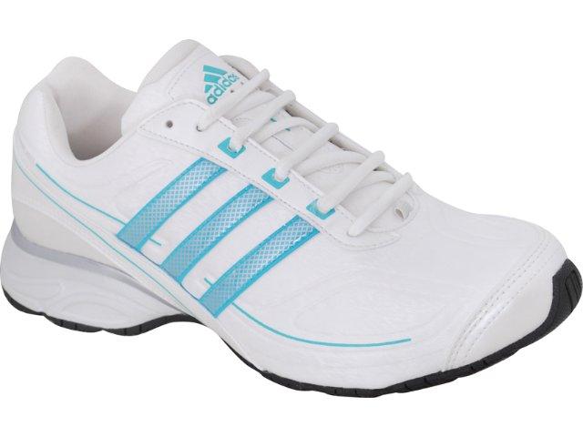 Tênis Feminino Adidas G29943 Evo Synt Branco/azul