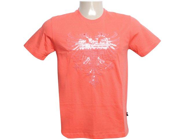 Camiseta Masculina Cavalera Clothing 01.01.6054 Laranja