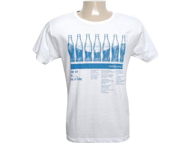 Camiseta Masculina Coca-cola Shoes 353202436 Gelo