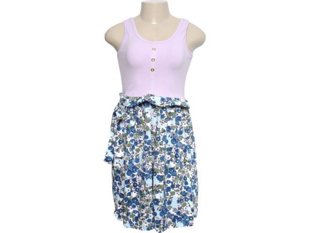 Vestido Feminino Mineral 92382 Floral/lilas