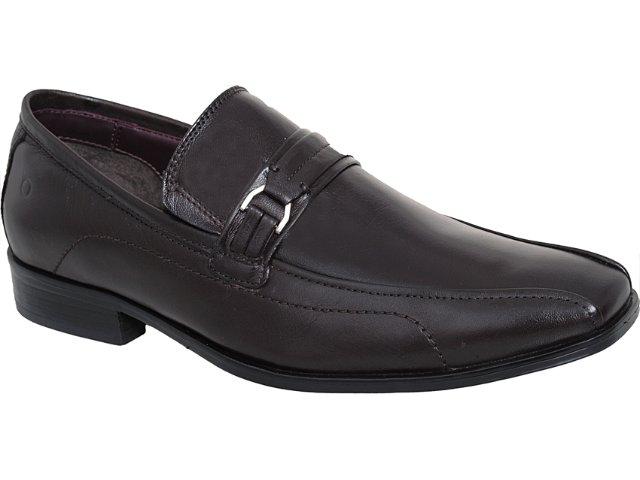 Sapato Masculino Democrata 0130101 Café