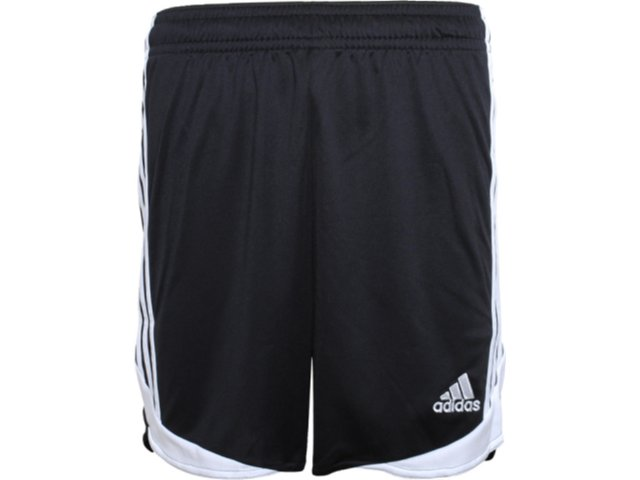 Calçao Masculino Adidas O07506 Preto/branco