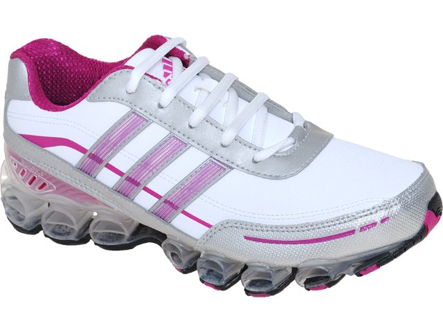 Tênis Feminino Adidas Adiligtninbouce G51967 Bco/pta/violeta