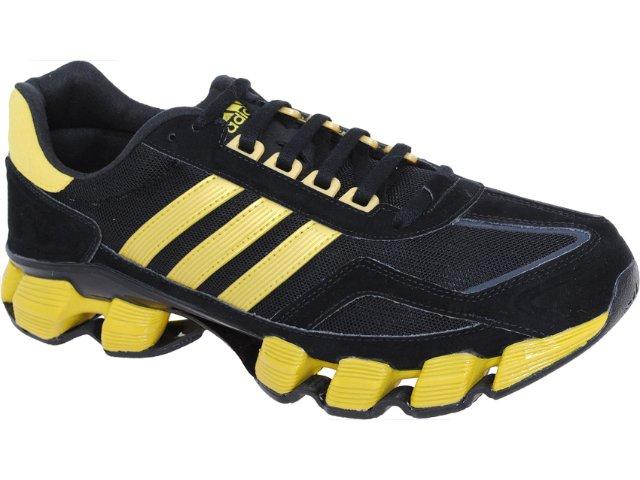 Tênis Masculino Adidas F2011 U44106 Preto/amarelo