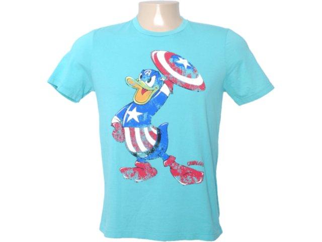 Camiseta Masculina Cavalera Clothing 01.01.6276 Verde