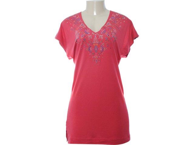 Camiseta Feminina Coca-cola Clothing Coca-cola 363200555 Bordo