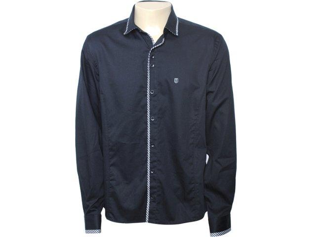 Camisa Masculina Individual 302.008.390 Preto