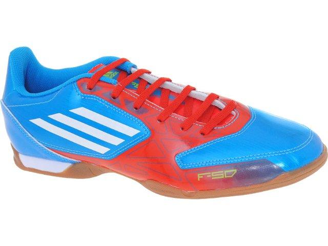 Tênis Masculino Adidas G29375 f5 in Azul/laranja