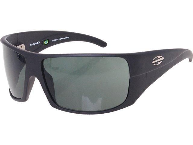 óculos Unisex Mormaii 0461 Amazônia  Preto Opaco