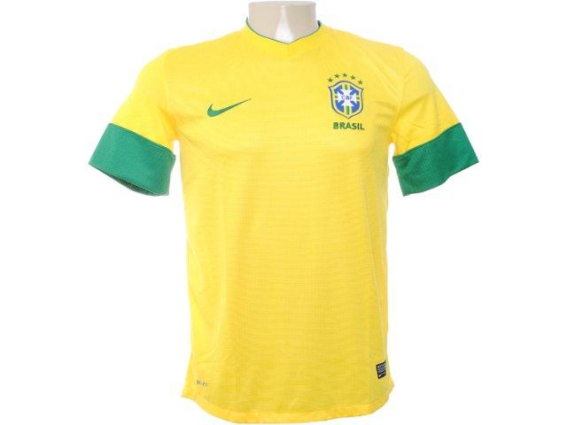 Camiseta Masculina Nike 447931-703 Amarelo/verde
