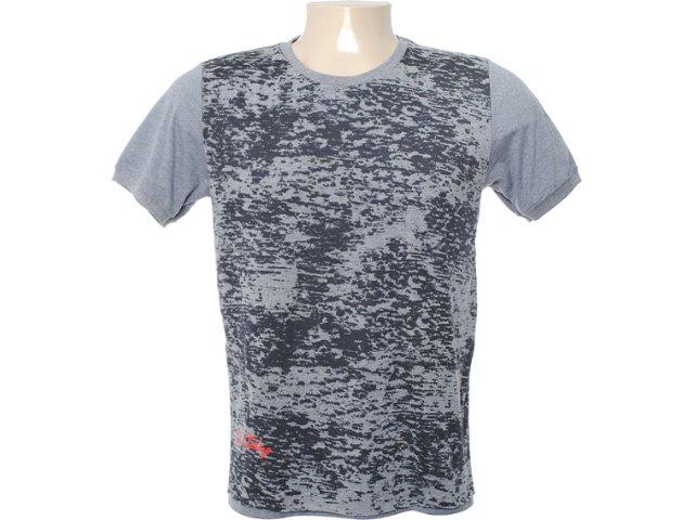 Camiseta Masculina Coca-cola Clothing 353202872 Mescla Escuro