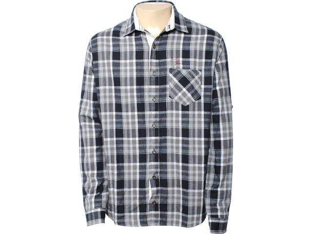 Camisa Masculina Index 07.01.0308 Cinza