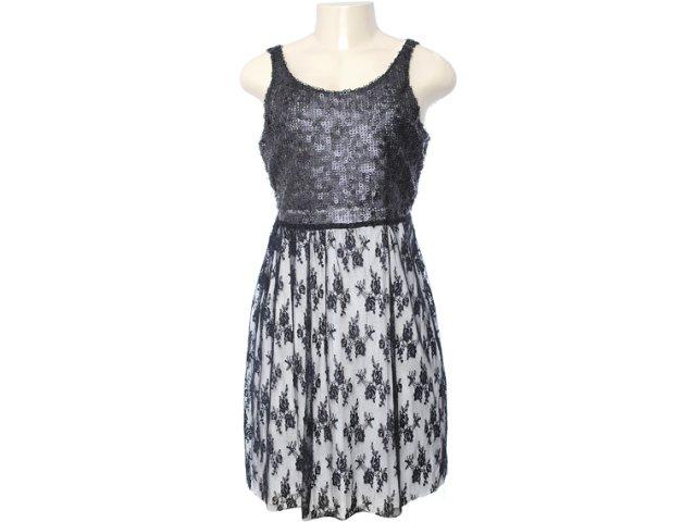 Vestido Feminino Dona Florinda 63381 Preto