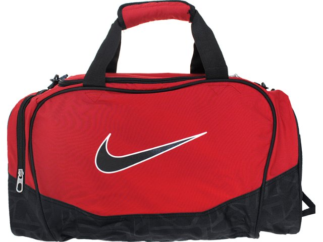 Bolsa Masculina Nike Ba3234-682 Preto/vermelho