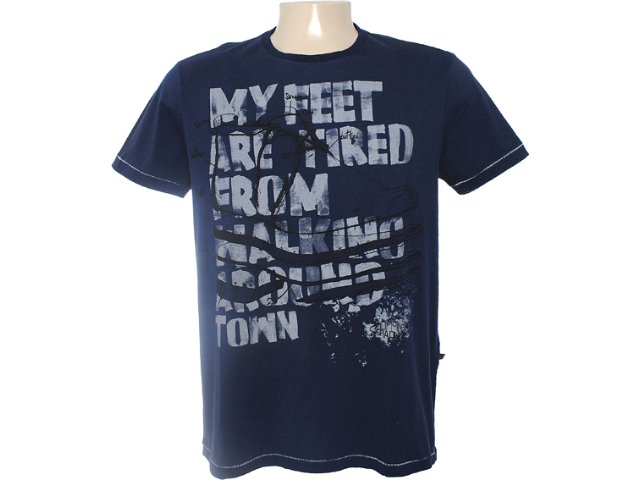 Camiseta Masculina Dopping 015462006 Marinho