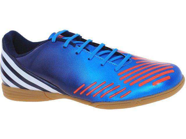 Tênis Masculino Adidas V22119 Predito lz Marinho/laranja