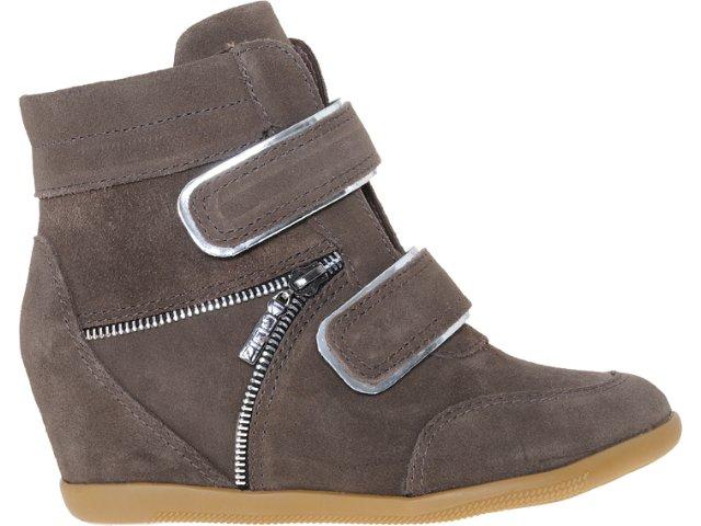 Sneaker Feminino Quiz 70903 Polvora